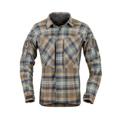 Рубашка MBDU Flannel Helikon цвет Ginger Plaid