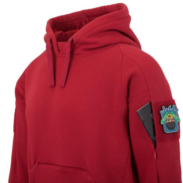 Толстовка URBAN TACTICAL HOODIE LITE (КЕНГУРУ), цвет Red
